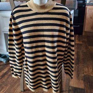 Gold/Black Stripe Bechamel Sweater
